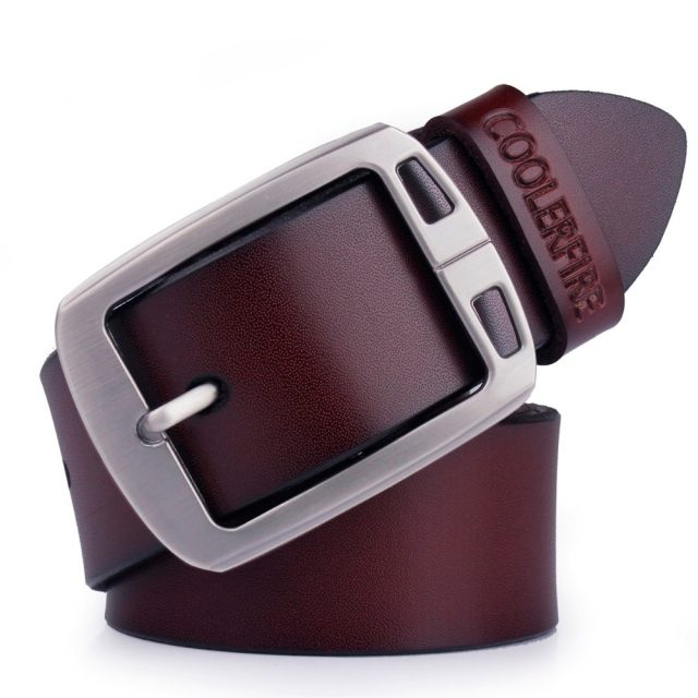 Cowhide genuine leather belts for men cowboy