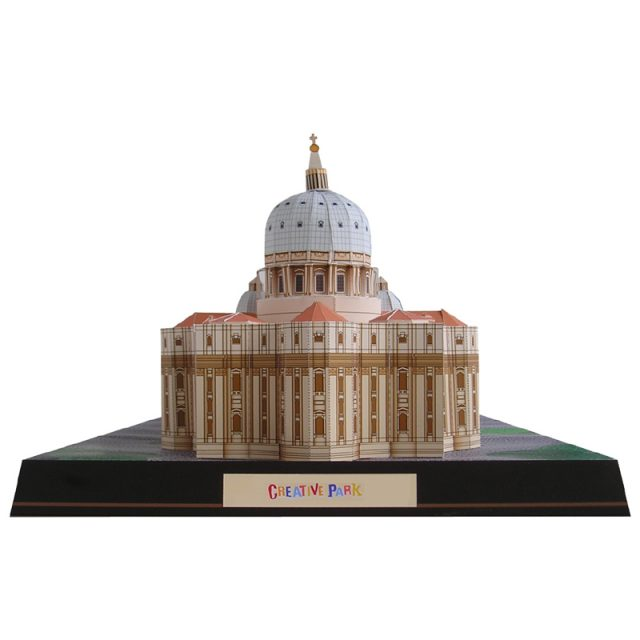 Vatican Saint Peter Basilica 3D Scale Model