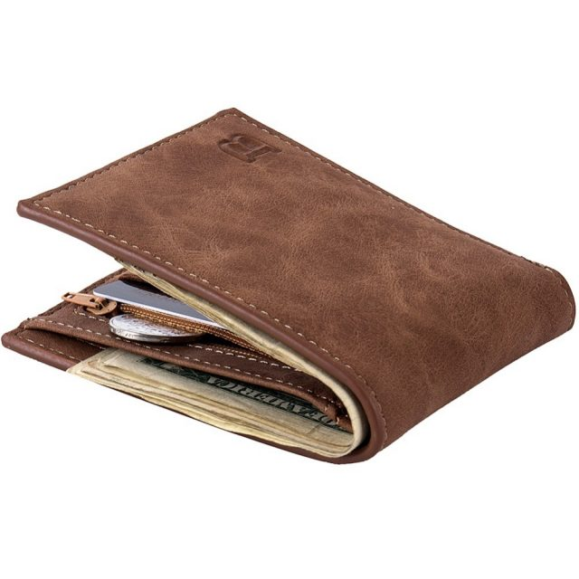 Men's Casual PU Leather Wallet