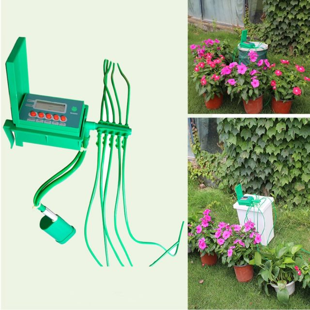 Automatic Micro Home Drip Irrigation