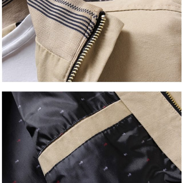 Men's Casual Zipper Bomber