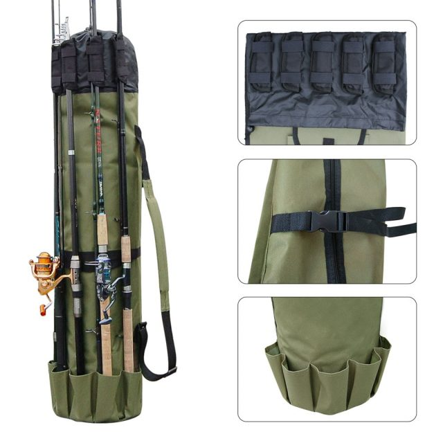 Fishing Portable Nylon Fishing Bag