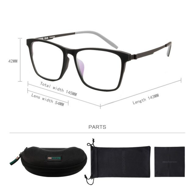 Men's Flexible Ultralight Glasses