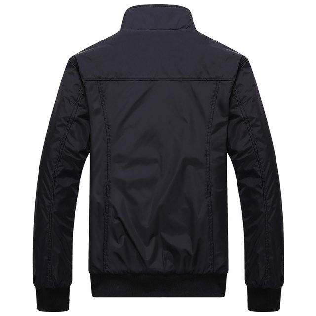 Casual Stand Collar Slim Jacket for Men