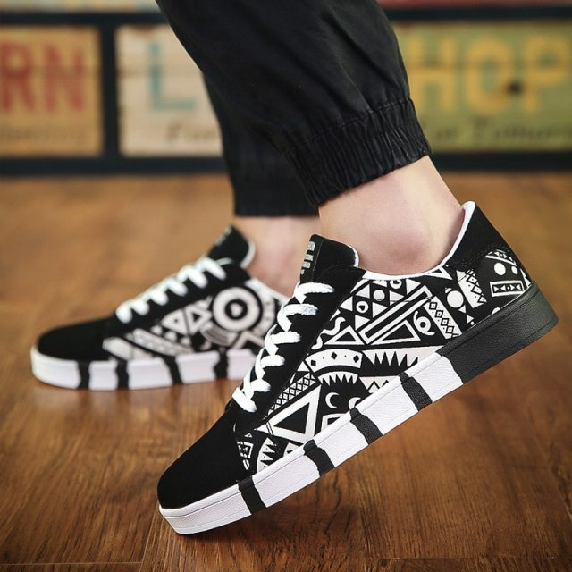 Men's Casual Ethnic Patterned Shoes