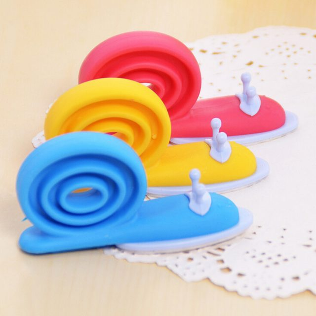 Cute Snail Shaped Silicone Door Stopper