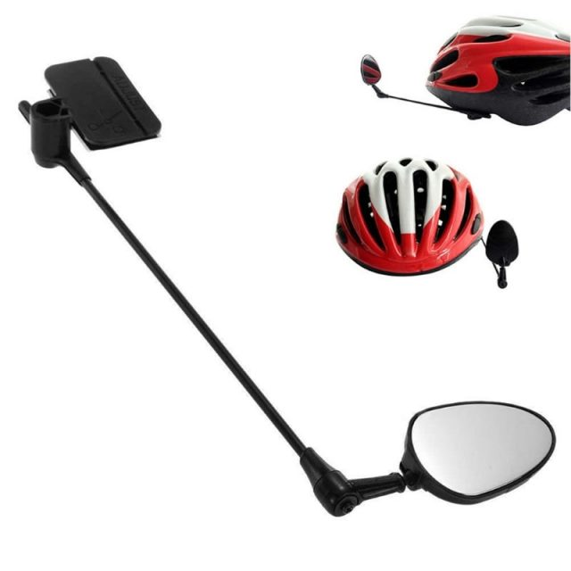 Universal Adjustable Bicycle Helmet Mirror