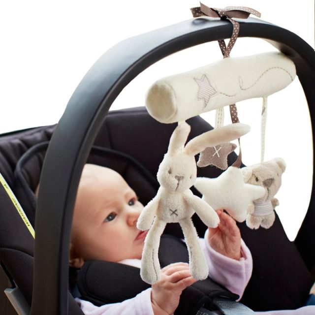 Babies' Cute Bed Hanging Plush Toy