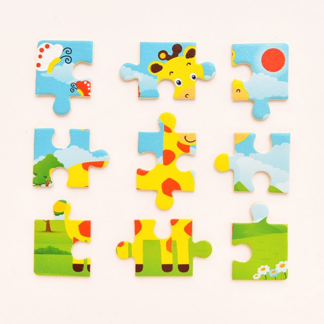 Kids' Educational Jigsaw Puzzle