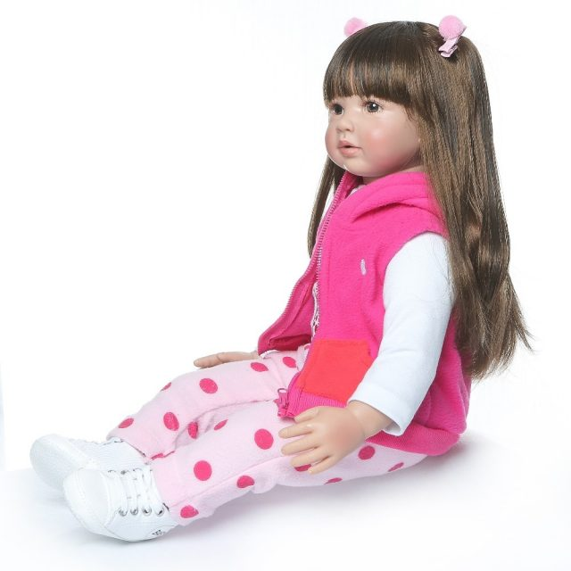 Lovely Long-Haired Baby Doll