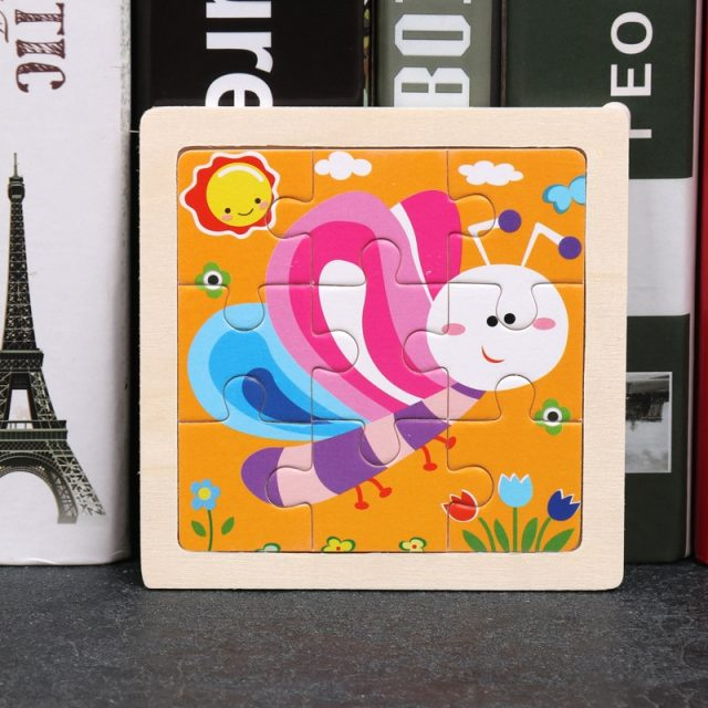 Kid's Educational Wooden Puzzles